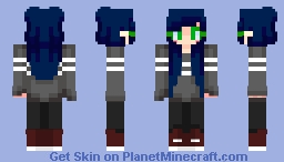 🌂 || Blueberry Minecraft Skin
