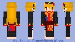 Junko Minecraft Skin