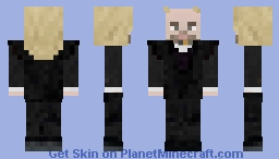 HP: Lucius Malfoy (classic) Minecraft Skin