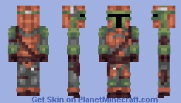 Kazuki_45's Request [Mandalorian] Minecraft Skin