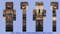 Fallout 4 - Nick Valentine Minecraft