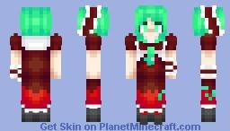Hina Kagiyama (Touhou 10: Mountain of Faith) Minecraft Skin