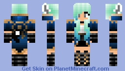Warrior Girl Minecraft Skin