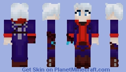 Nero Sparda Minecraft Skin