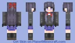 Tohka Yaotgami - Uniform Minecraft Skin