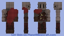 Mercenary Knight Minecraft Skin