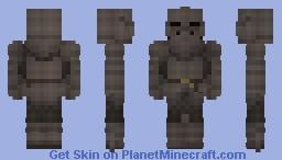 Black Knight Minecraft Skin