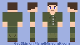 American soldier for Custom NPCs with Flan's mod armours Minecraft Skin