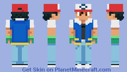 Ash Ketchum (True to Cartoon)