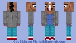 BoJack Horseman Minecraft Skin