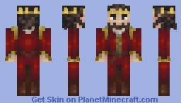 """I attract people. I am the emperor."" Minecraft Skin"