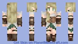 ♦ℜivanna16♦ Evergreen Minecraft Skin