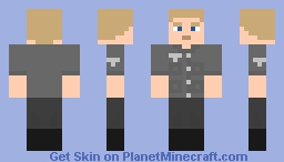 German soldier for Custom NPCs with Flan's mod armours Minecraft Skin