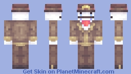 Hatty Hattington - BattleBlock Theater kablamo Minecraft Skin