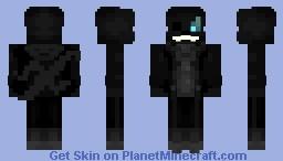 Nightmare Sans Minecraft Skin