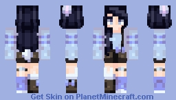 Bunny Blues // Adopted by SoIsntHunterHere Minecraft Skin