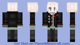 My Default Skin (Servant Komaeda from Danganronpa: AE) Minecraft Skin