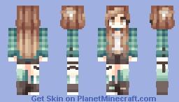 Shinoa . Tala Minecraft Skin