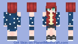 - Starry Night Minecraft Skin