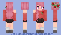 - Roses Minecraft Skin
