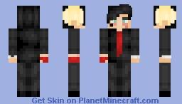 Frank Iero Minecraft Skin