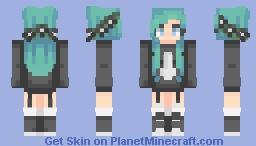 ƁℓυєAηgєℓ ~ ST w/ FlowerPrince Minecraft Skin