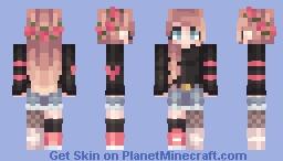 st × tisjennae × popreeeel Minecraft Skin
