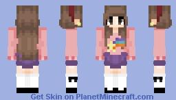 Mabel Pines - Gravity Falls Minecraft Skin