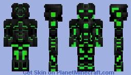 Tron Robo Green