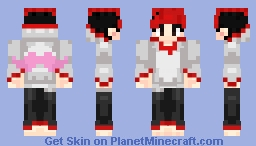 Markiplier (Red) Minecraft Skin