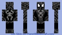 Black Spider-Man (Symbiote) (Original Movie) Minecraft Skin