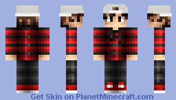 Pyrus's Skin with his Hat | Youtuber