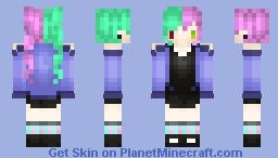 (Requested) Yuka ~ Maya Minecraft Skin