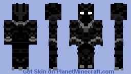 Black Panther Civil War Minecraft Skin