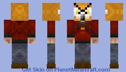Thug Owl Minecraft Skin
