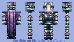 Female Knight Minecraft Skin