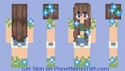 .+*Flower Girl*+. Minecraft Skin