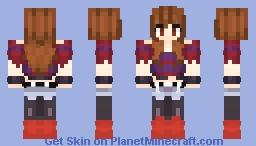 Frisk [EchoTale] Minecraft Skin