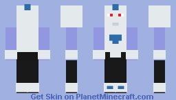 Final Form Frost (Dragon Ball) Minecraft Skin