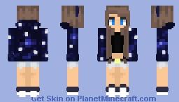 €łłα | Starry Galaxies Minecraft Skin