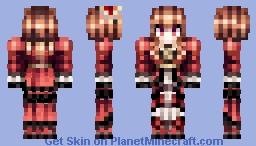 Hizaki - Versailles Minecraft Skin