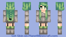 First Skin Re-Do / 300 Subs / 1 Year on PMC / Popreel! Minecraft Skin