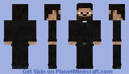 Jesse Custer Minecraft Skin