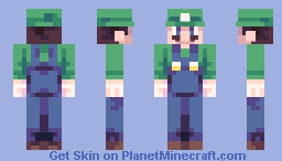 Luigi Minecraft