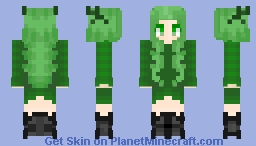 Lime For Everyone! ^-^ Minecraft Skin