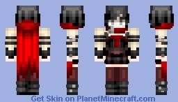 RWBY - Ruby Rose - Volume 4 (REDO) Minecraft Skin