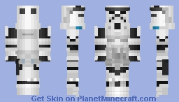 Imperial Storm Trooper - StarWars Minecraft Skin