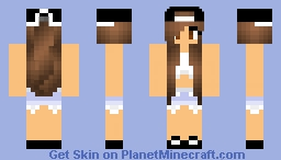Ariana grande - celebrity series Minecraft Skin