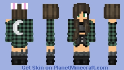 Bunny Girl | ωуѕтαℓια Minecraft Skin
