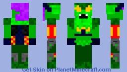 Special Look) Green Goblin Season 2 Minecraft Skin